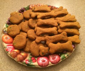 Easy Pumpkin Dog Treats – With a Twist!